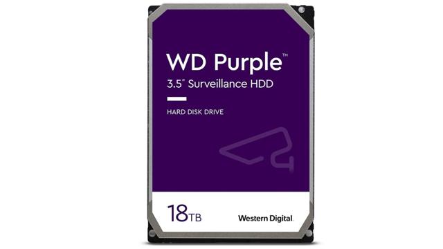 Western Digital predstavlja WD Purple 18TB HDD i 1TB