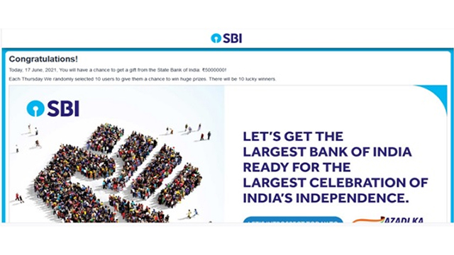 SBI Scams