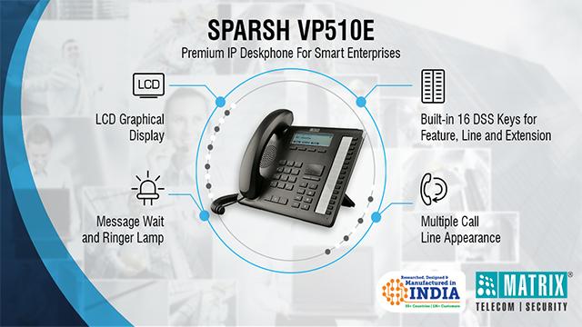 Matrix-SPARSH-VP510E